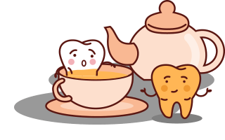 missfargning-tander-te
